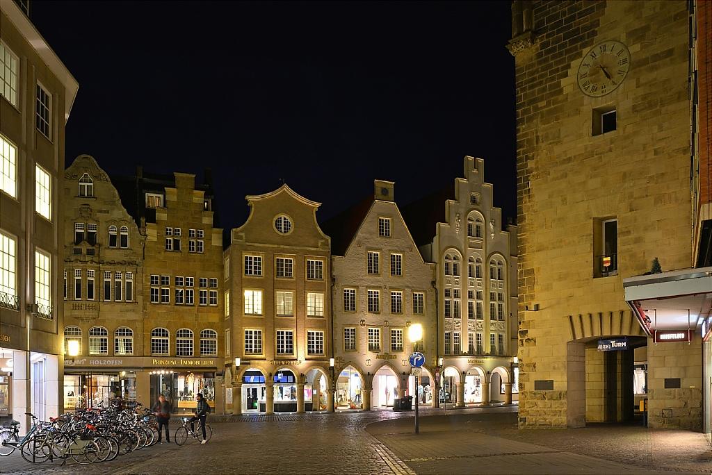 Münster Klemensstrasse vor Prinzipalmarkt