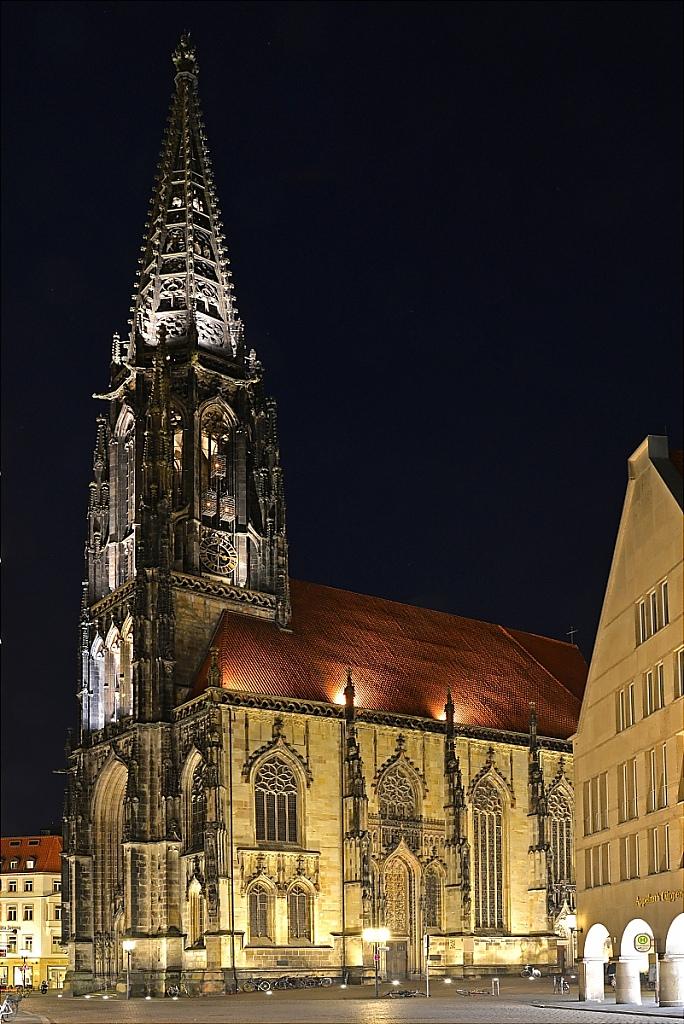 St Lamberti Kirche erbaut 1375–1526