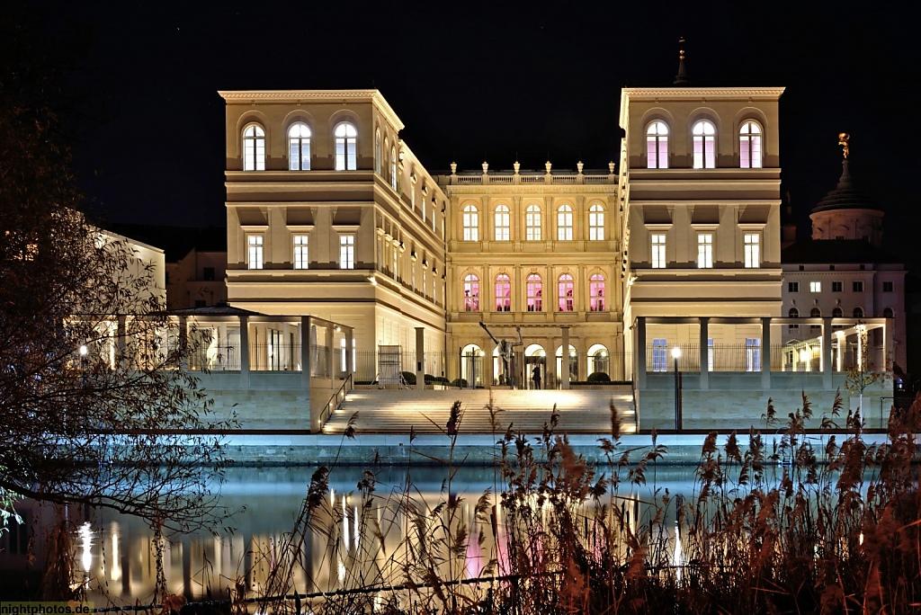 Potsdam Alte Fahrt Museum Barberini  erbaut 2016 als ekosnstruktion historischer Vorlage