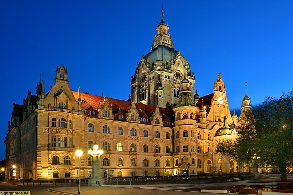 Hannover Neues Rathaus fertiggestellt 1913