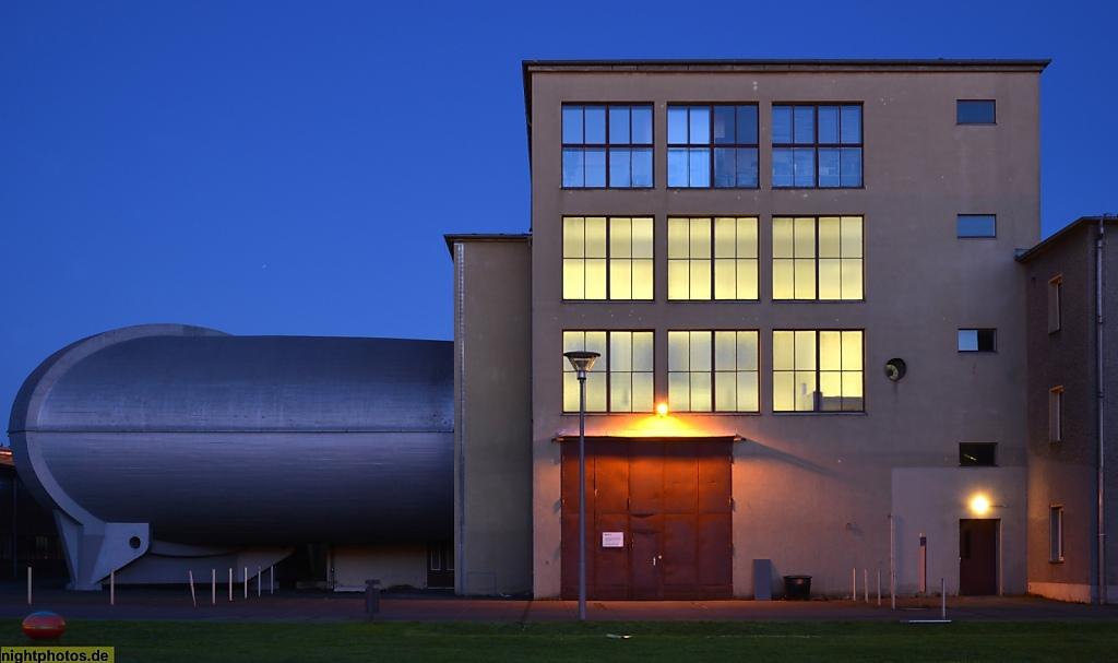 Berlin Johannisthal Grosser Windkanal auf dem Campus der Humboldt-Universität