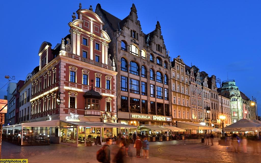 Wrocław Breslau Großer Markt Rynek 38-41