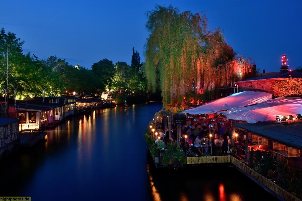 Berlin Treptow Freischwimmer und Club der Visionäre am Flutgraben