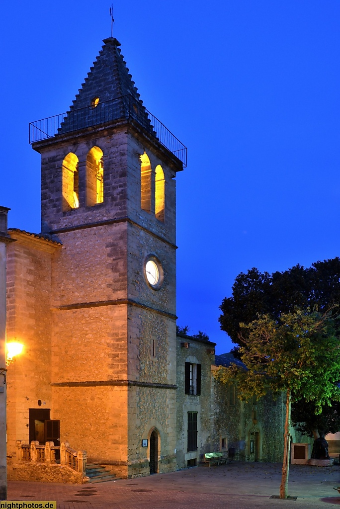 Mallorca Son Servera Església Vella de Sant Joan Baptista