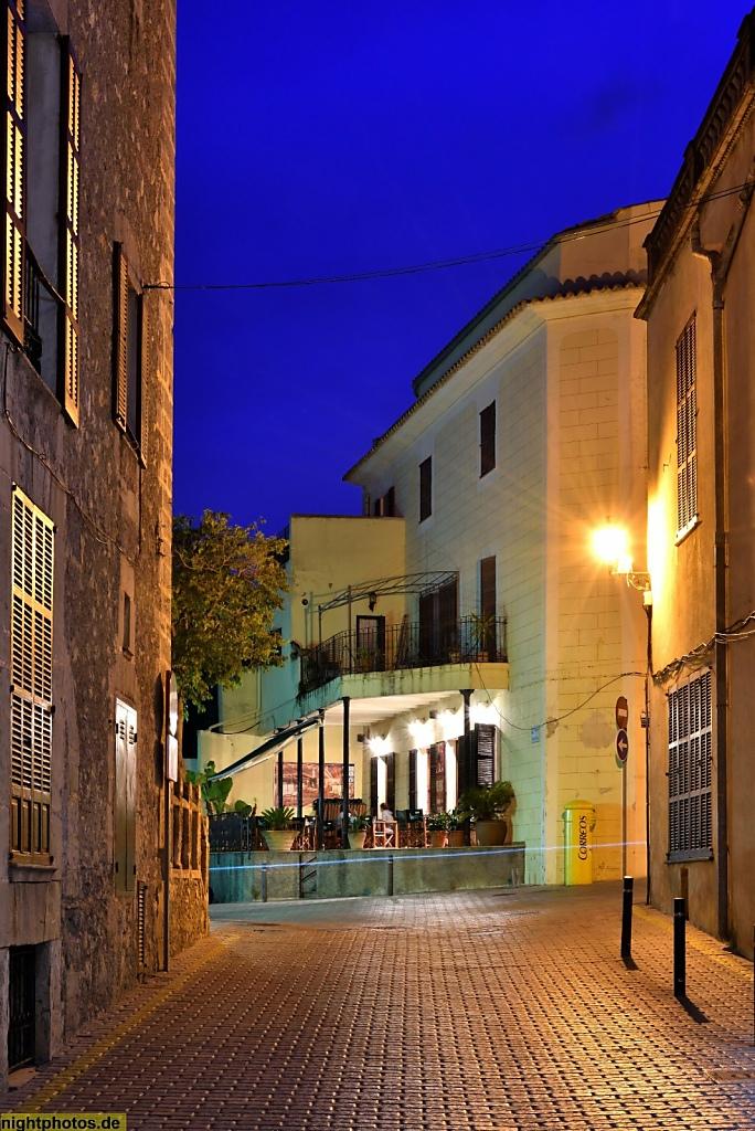 Mallorca Son Servera Bar am Placa de Sant Joan