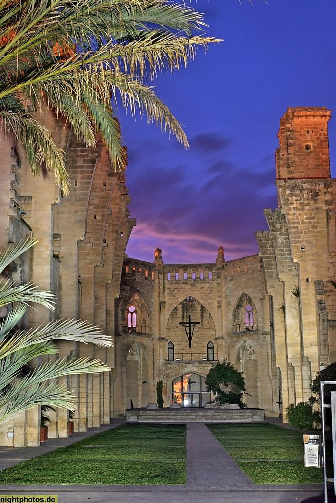 Mallorca Son Servera Església Nova Bau 1905-1930 unvollendet