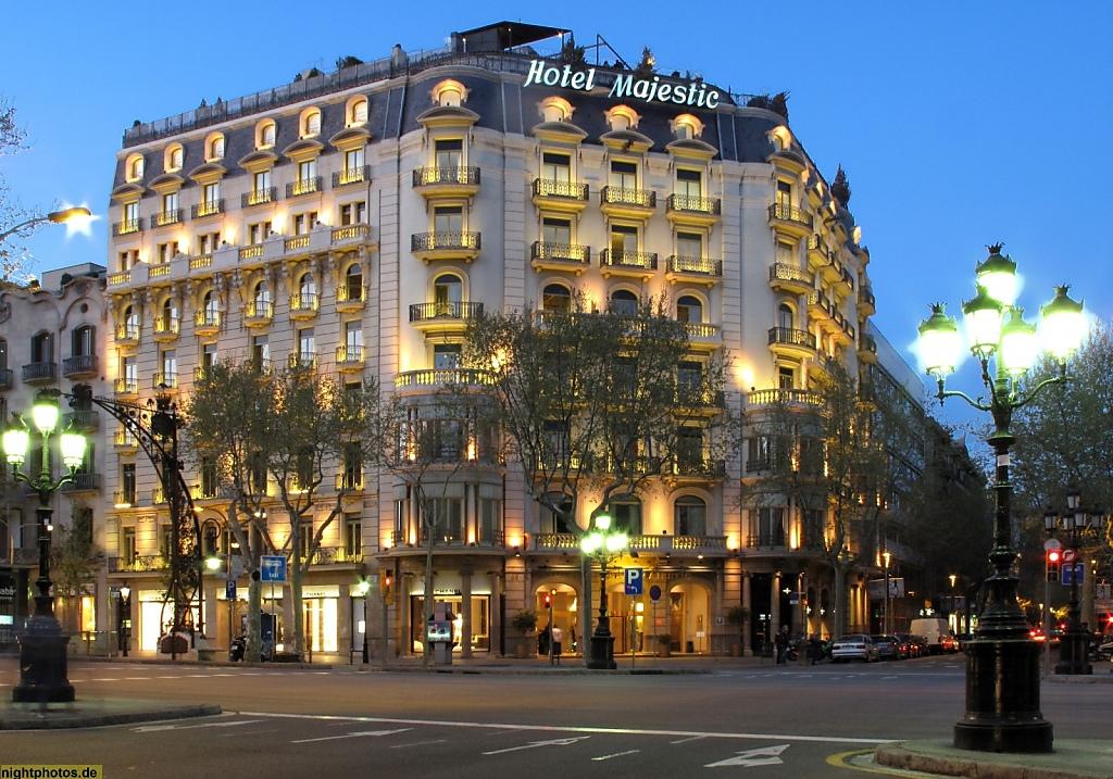 Barcelona Hotel Majestic am Passeig de Gracia
