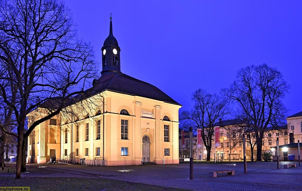 Neuruppin Pfarrkirche Sankt Marien erbaut 1801-1806 von François Philipp Berson und Carl Ludwig Engel heute Kultur- und Kongresszentrum