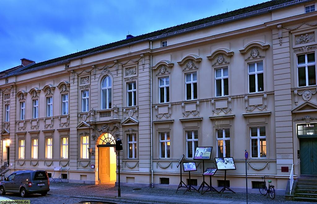 Potsdam Bürgerliches Wohnhaus erbaut 1777 von Georg Christian Unger in der Wilhelm-Staab-Strasse