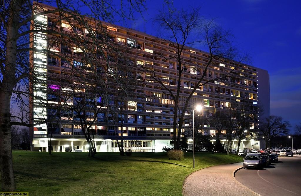 Berlin Charlottenburg Westend Corbusierhaus Erbaut 1956 1958 Von