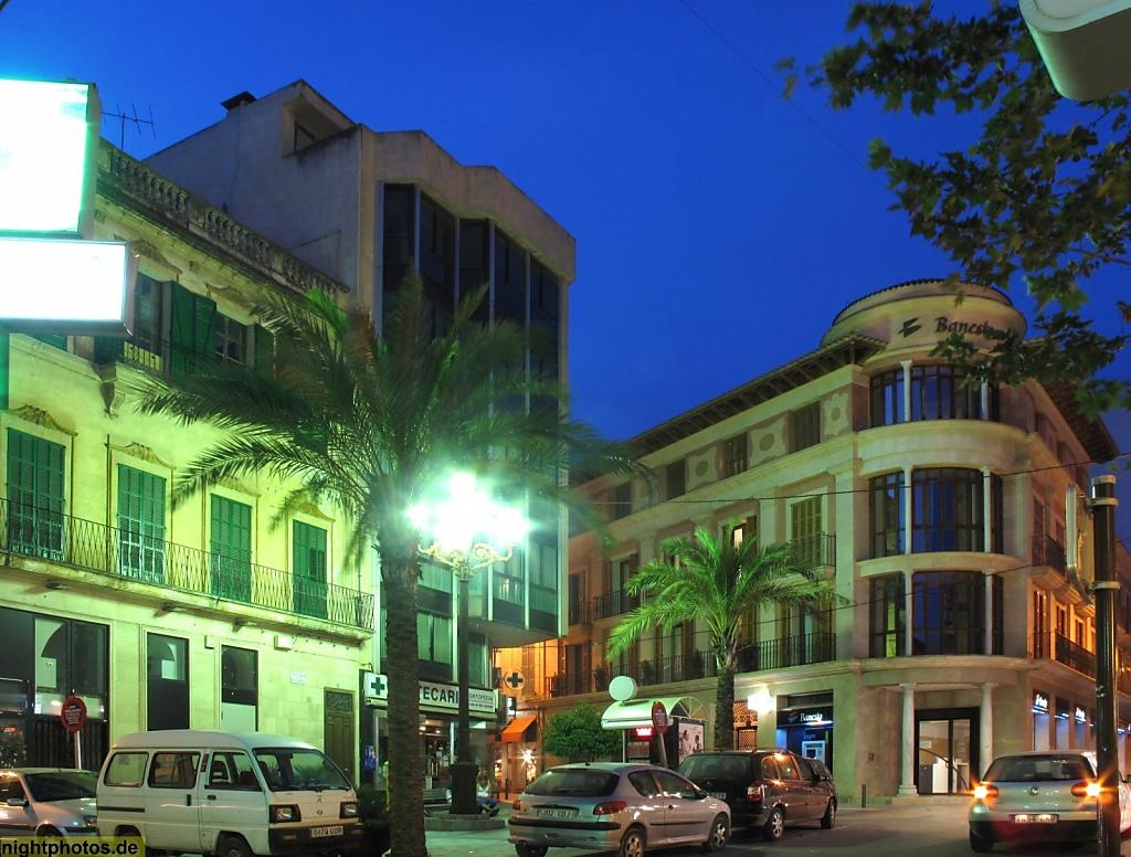 Mallorca Manacor Placa de sa Bassa