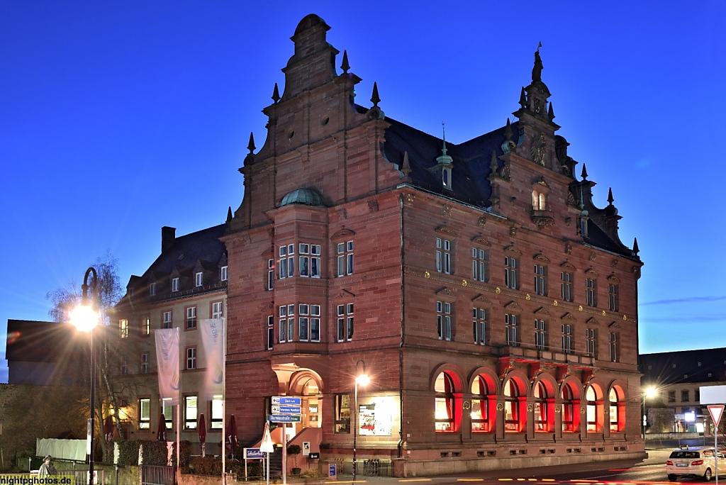 Fulda Café Ideal erbaut 1901-1902 als Reichsbank-Stelle Fulda von Architekt Max Hasak