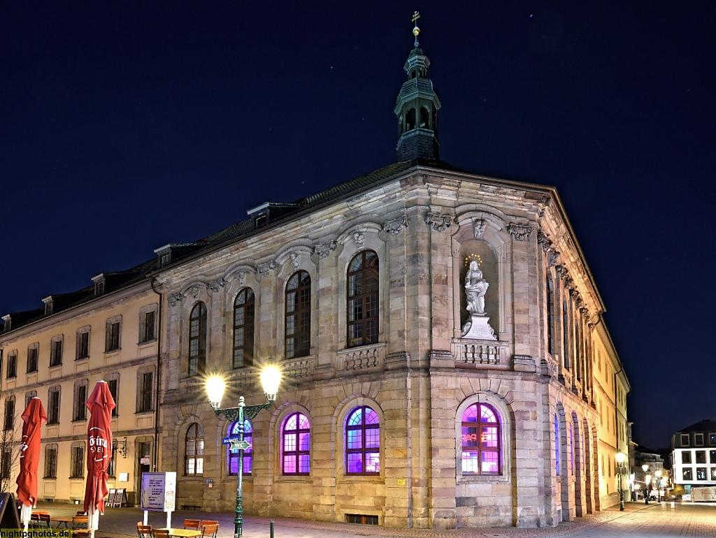 Fulda Vonderau-Museum erbaut 1584-1732 als Päpstliches Seminar und Schule der Jesuiten. Alte Stadtschule. Heute Museums-Café