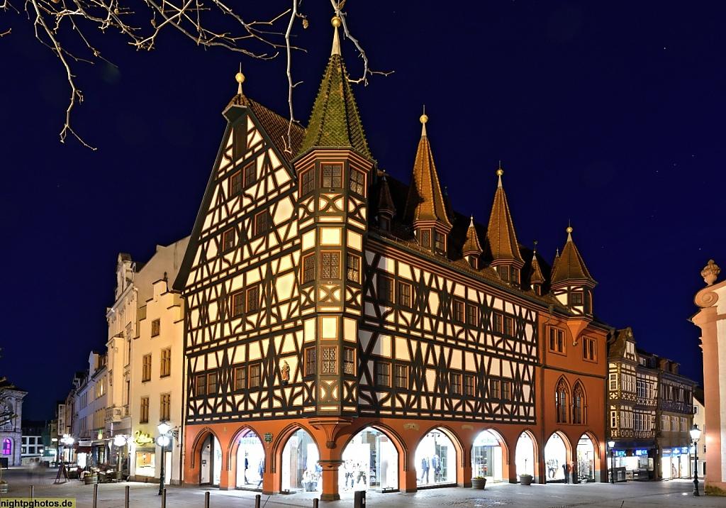 ulda Altes Rathaus erbaut 1531 genutzt bis 1782. Fachwerk gotisch