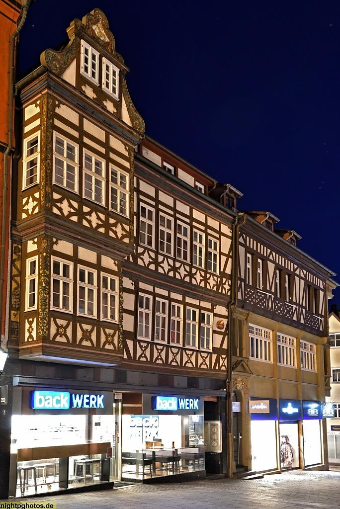 Fulda Altes Rathaus erbaut 1531 genutzt bis 1782. Anbau