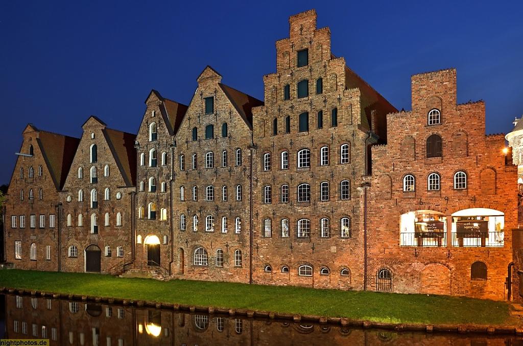 Lübeck Salzspeicher erbaut 1579-1745 an der Obertrave