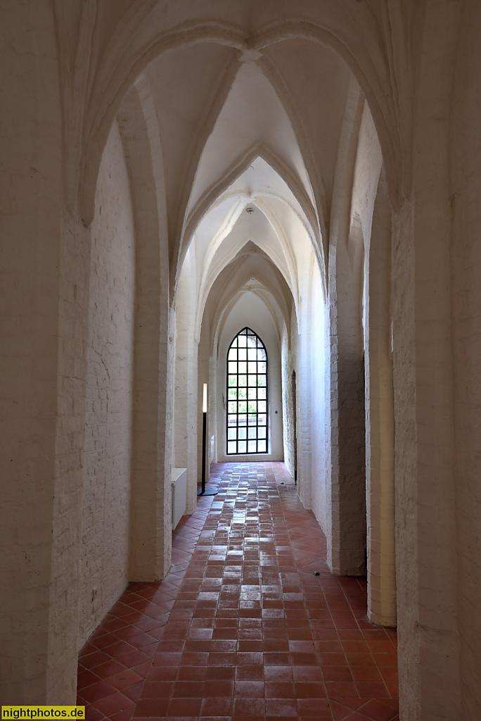 Lübeck Maria-Magdalenen-Kloster. Burgkloster des Dominikanerorden 1227-1531. Flur Zugang zum Hospital