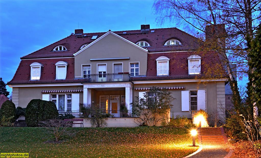 Berlin Dahlem Fritz-Haber-Institut Richard-Willstätter-Haus erbaut 1912 von Alfred Breslauer. Abteilung Theorie
