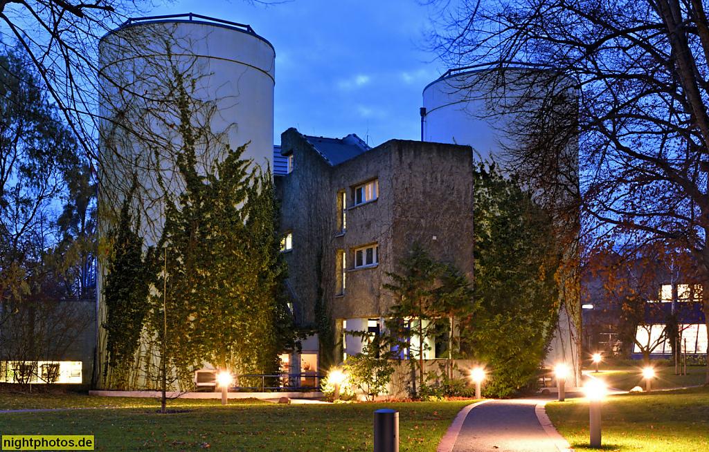 Berlin Dahlem Fritz-Haber-Institut für Elektronenmikroskopie. Ernst-Ruska-Bau erbaut 1972-1974 als Laborgebäude von Gerd Hänska im Stil des Brutalismus