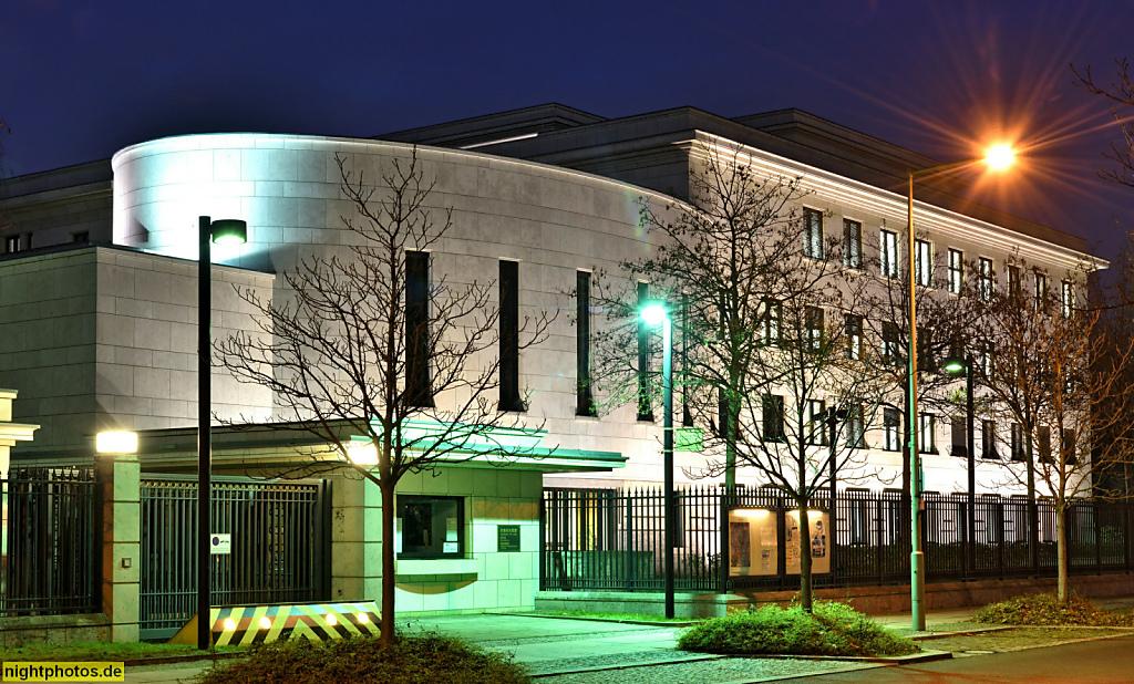 Berlin Tiergarten Botschaft von Japan Erstbau 1938-1942 von Ludwig Moshamer und Albert Speer. Wiederaufbau 1985-1888 von Kishō Kurokawa und Tajii Yamaguchi
