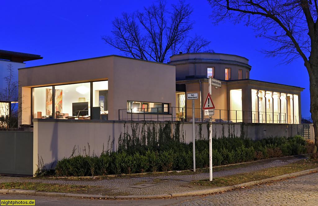 Berlin Dahlem Haus Kohtz erbaut 1922-1923 als Wohnhaus für und von Architekt Otto Kohtz