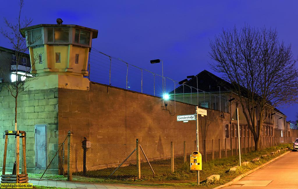 Berlin Hohenschönhausen Ehemaliges Untersuchungsgefängnis des DDR-Ministeriums für Staatssicherheit. Gedenkstätte seit 1994