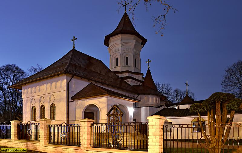 Berlin Westend Rumänisch-Orthodoxe Kirche Die Heiligen